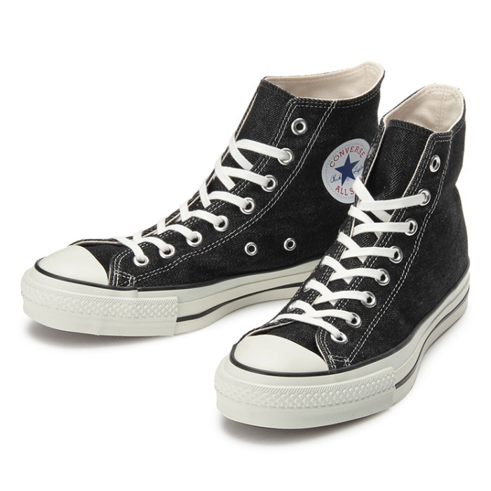 FOOTMONKEY  ○○ CONVERSE ALL STAR J DENIM HI regular article  black ... c6356e3a8e3cf
