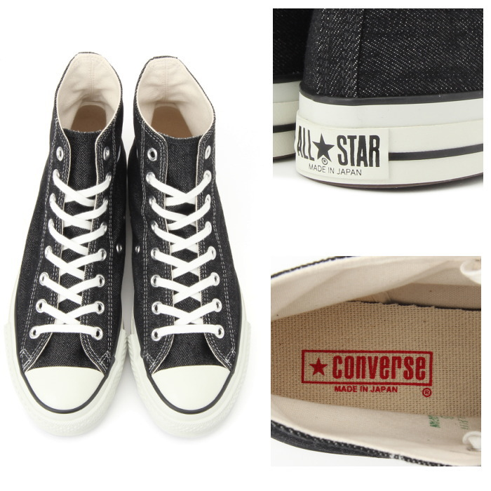 ... CONVERSE ALL STAR J DENIM HI regular article  black  men sneakers denim 3dcdb358530e7