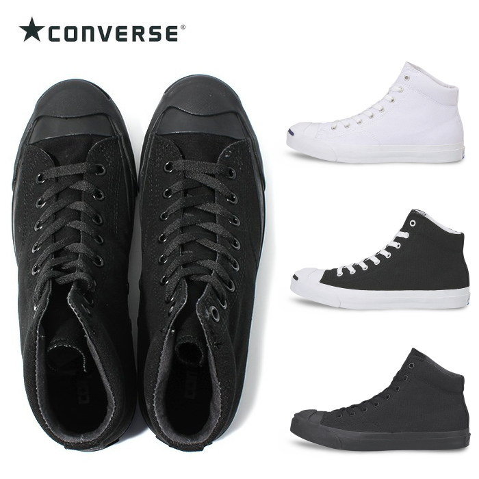 f77679b56dd Converse Jack Pursel mid CONVERSE JACK PURCELL MID regular criticism turn  men gap Dis canvas sneakers mid cut  black
