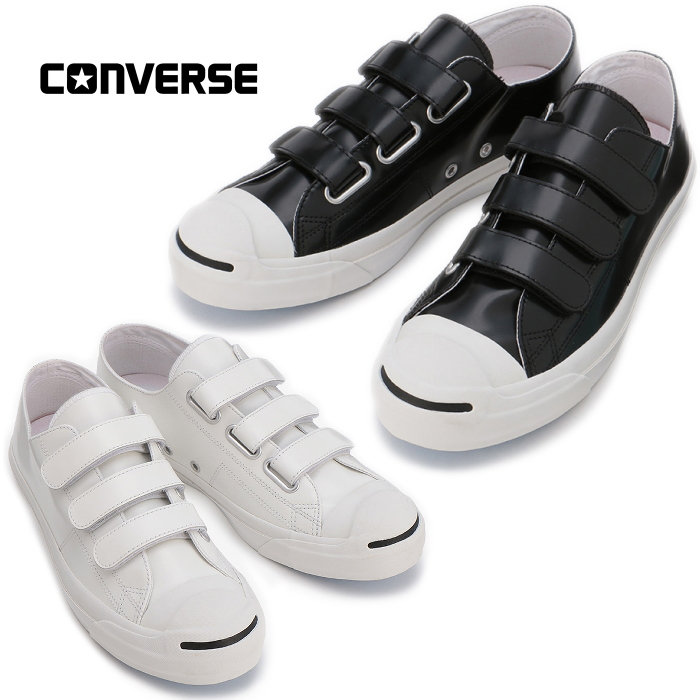 ?? Converse regular article CONVERSE JACK PURCELL V 3 CG LEATHER R Jack Pursel leather Velcro slip ons low frequency cut sneakers men 2018 new work in