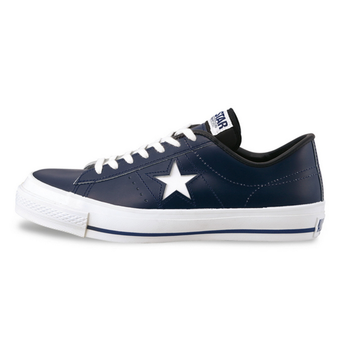 9d23002907b486 ... ○○ men s sneaker shoes for the men sneakers low-frequency cut man made  in Converse one star leather CONVERSE ONE STAR J OX  navy  Japan