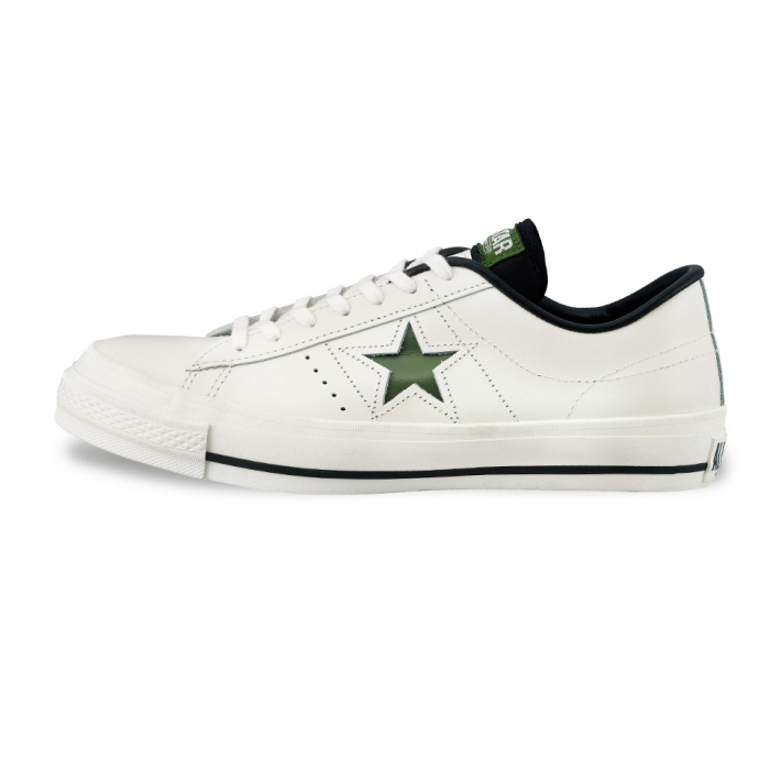 b9ae9c35fe70 ... ○○ men s sneaker for the men sneakers low-frequency cut man made in Converse  one star leather CONVERSE ONE STAR J OX  white   green  Japan