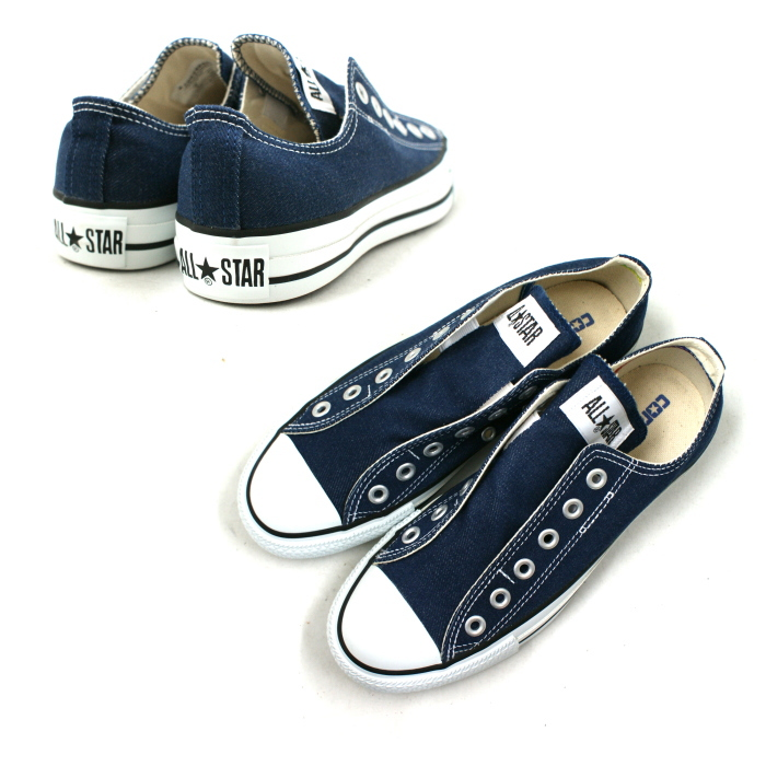 e584f0fcdda9 ... ○○ Converse slip-ons CONVERSE ALL STAR SLIP III DH OX all-stars slip 3   denim  sneakers Lady s men slip-on low-frequency cut shoes slip-on men  s  ...