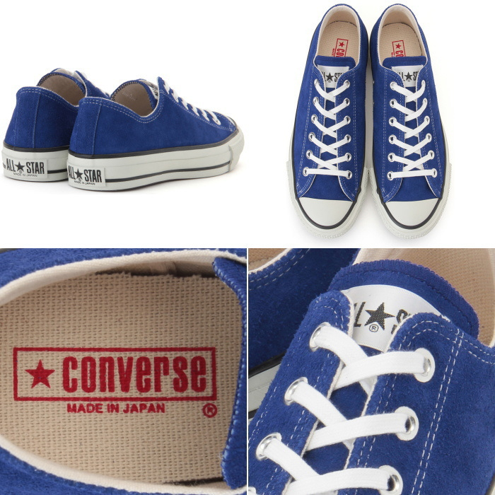 73ff41befe6e99 Converse genuine all-star CONVERSE SUEDE ALL STAR J OX low-cut sneakers  mens suede
