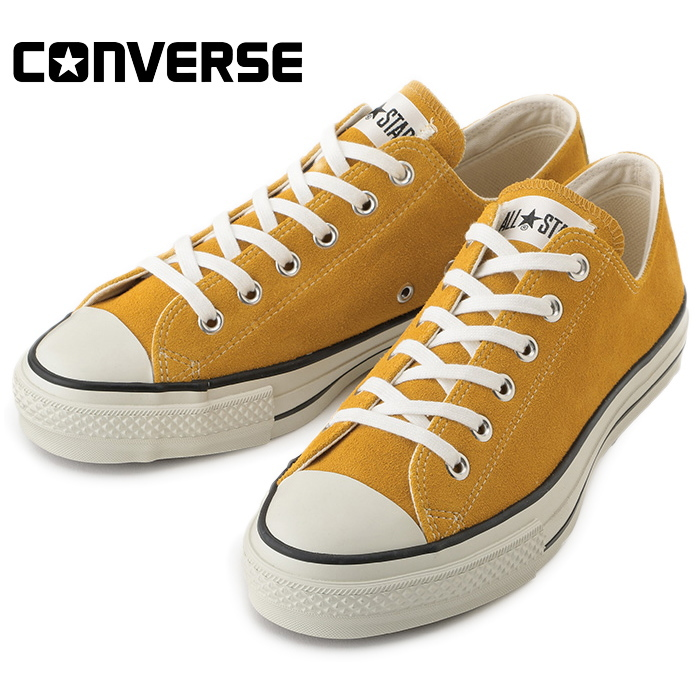 81fd9caf795c8d I work on it newly in product made in CONVERSE SUEDE ALL STAR J OX Converse  sneakers gold all-stars low-frequency cut men suede Japan regular article  2018 ...