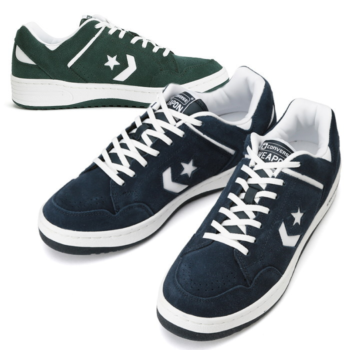 f1d53370a6f83e Converse weapon 30 anniversary CONVERSE WEAPON SUEDE OX suede sneakers mens