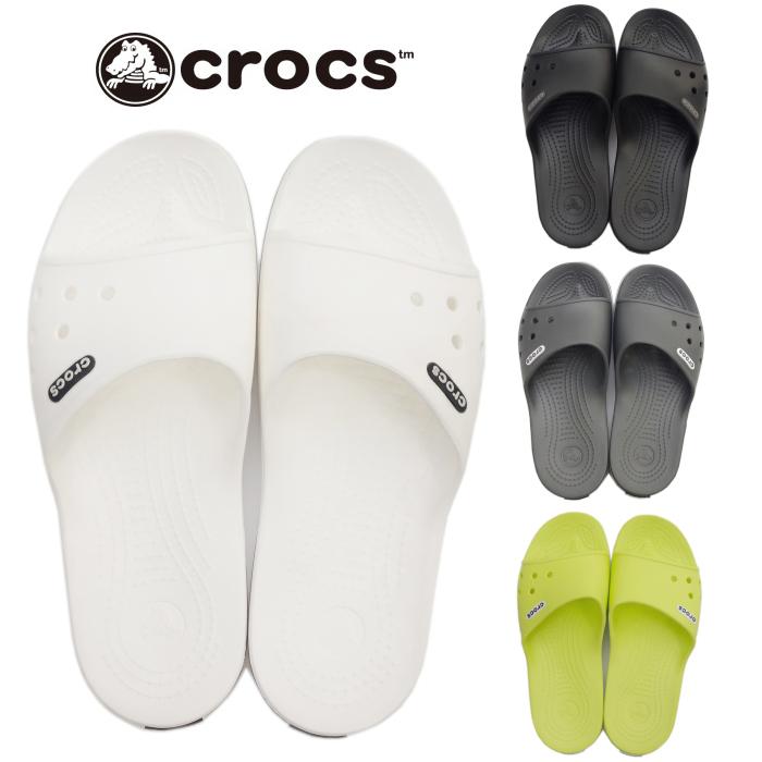 348b5f1a0d6a Clocks sandals crocs Crocband II Slide 204108 clock band 2.0 slide regular  article men shower sandals 2018 new work in the spring and summer