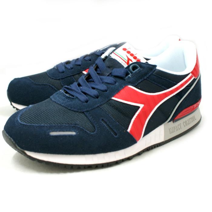 Deirdre sneakers mens DIADORA TITAN 2 Titan 158623C2546 [BLUE  DENIM/CHINESE RED] men's sneaker shoes store 2015 spring summer new