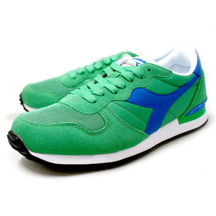 b066c21b40 Deirdre sneakers mens DIADORA CAMARO Camaro 159886-C5742 [BRIGHT GREEN/BLUE  REFLEX] men's sneaker shoes store 2015 spring summer new