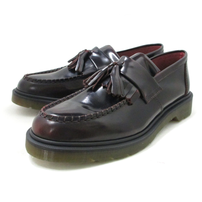 Dr. Martin loafer tassels Dr.Martens ADRIAN 14573601 cherry red mens  leather men   shoes shoes store 2014 Winter new a740caa5db4f