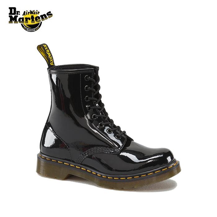 c8c8b0cd21e Dr. Martens 8 genuine Dr.Martens 1460 W 8 EYELET BOOT boots shoes men s women s  lace-up patent