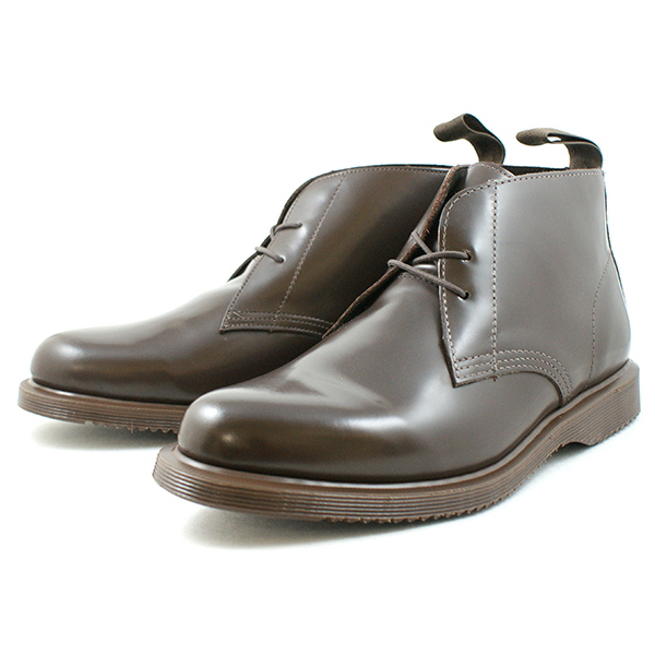 ●● Doctor Martin chukka boots Dr.Martens KENYON 15278200 chocolate men genuine leather chukka boots men's boots