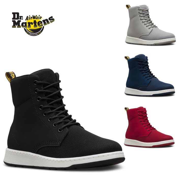 Doctor Martin 8 hall regular article Dr.Martens LITE RIGAL MH 8 EYE BOOT boots shoes higher frequency elimination sneakers men race upright mesh super