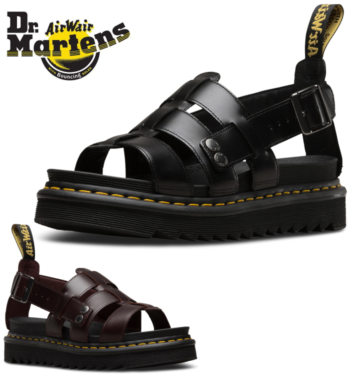 246e44542e ITEM INFORMATION. Brand name, Dr.Martens TERRY ZEBRILUS Terry sports sandals  doctor Martin sandals men leather regular article shoes ...