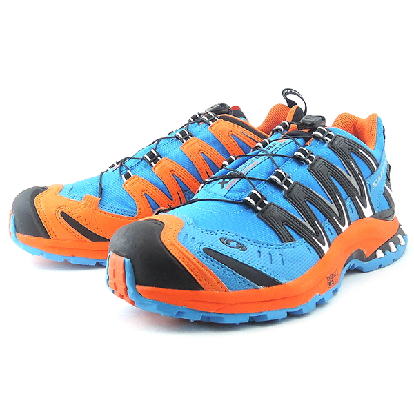 ●● men's for the Salomon trail running shoes SALOMON XA PRO 3D ULTRA 2 GTX [BLUEORANGEBLACK] XA pro 3D ultra 2 Gore Tex men man