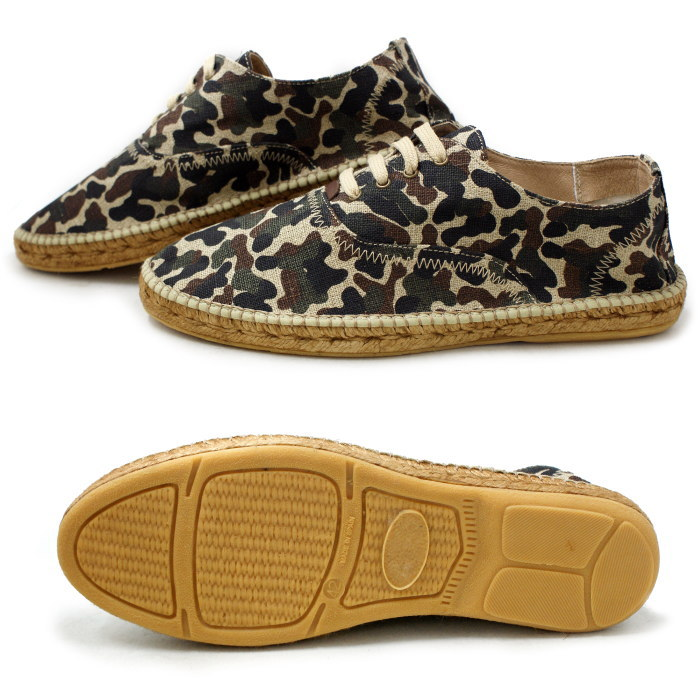 New Gaim espadrille mens gaimo LUPO Lupo [camouflage] with handle made in Spain men's shoes shoes casual ESPAD Liu men's men's shoes by 2015 spring summer