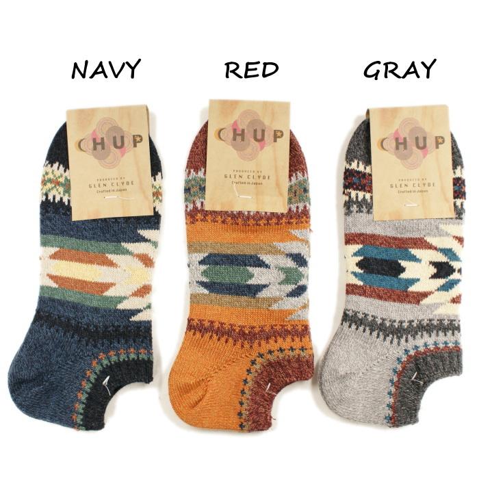 供chupu袜子CHUP KUUYI kui≪人≫短袜日本制造短短袜船员短袜男性使用的by格伦·克莱德