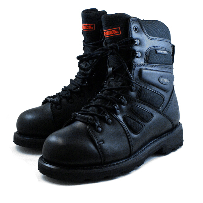Harley Davidson 靴真正 Harley Davidson D98304 [黑色] FXRG 3 摩托时尚工作靴黑色男装男式 buutsu 男式靴子 Harley Davidson