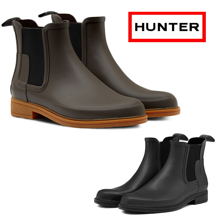 071dc09fd99b I work on it newly in Masanori Hunter product HUNTER M ORG REFINED CHELSEA  MFS9060RMA rain boots men side Gore boots original re-find Chelsea  waterproofing ...