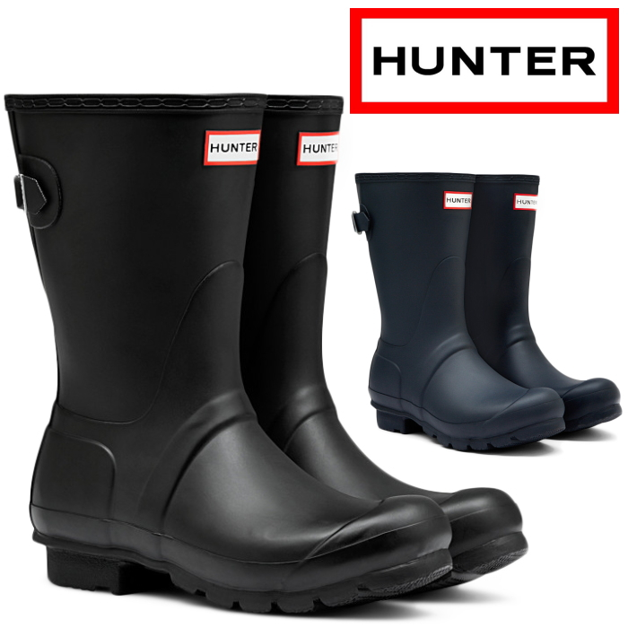 795f0b6cd71 HUNTER boots WFS1013RMA hunter rain boots short WOMENS ORIGINAL BACK  ADJUSTABLE SHORT BOOTS original back adjuster bulldog bootie lady's boots  ...