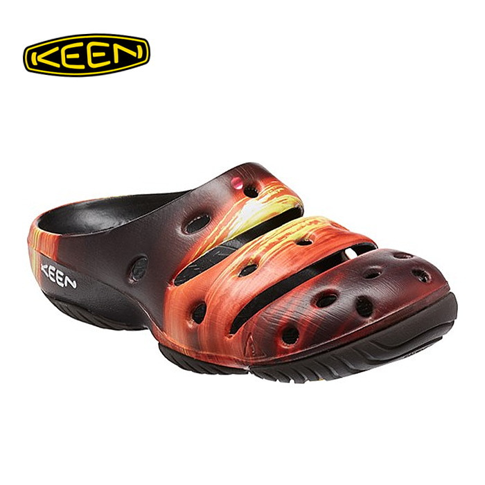 704d9894912f Keen Sandals men s KEEN YOGUI CRAFTS  Sunrise  Yogi crafts genuine clog  sandal (sports)