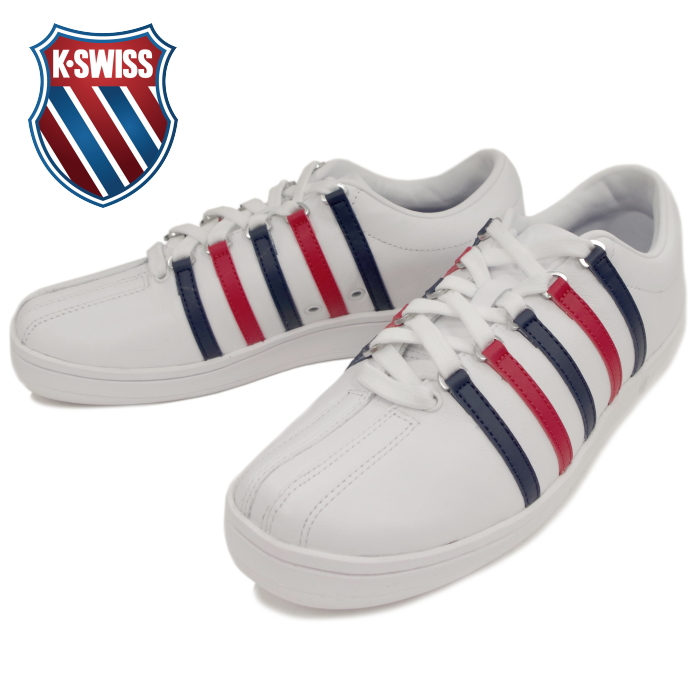 acquisto economico migliore vendita moda firmata Case chair K-SWISS CLASSIC 88 02248-154 [WHITE/DRESS BLUE/RIBBON RED]  classical music sneakers men gap Dis low-frequency cut leather 2017 new  work in ...