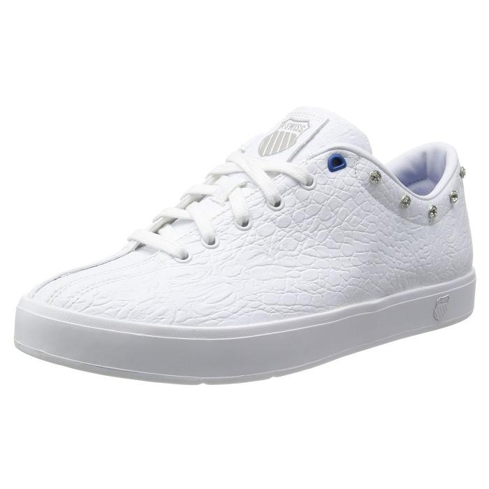 innovative design 84784 2e3a8 Swiss sneaker k-Swiss CLEAN CLASSIC 02874928 the white Croco] clean classic  men's low-cut shoes KSWISS K-SWISS men's sneaker sale cheap