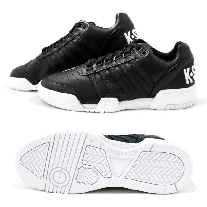 Swiss sneaker mens K-SWISS GSTAAD 03506066 [Black/White/big logo] Gstaad  men's shoes men's sneaker 2015 new fall