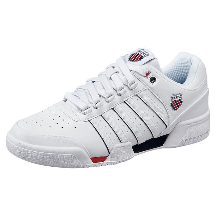 012b944415df Swiss sneaker k-Swiss GSTAAD 01734130  White Navy Red  Gstaad men s low-cut  shoes KSWISS K-SWISS men s sneaker 2015 spring summer new