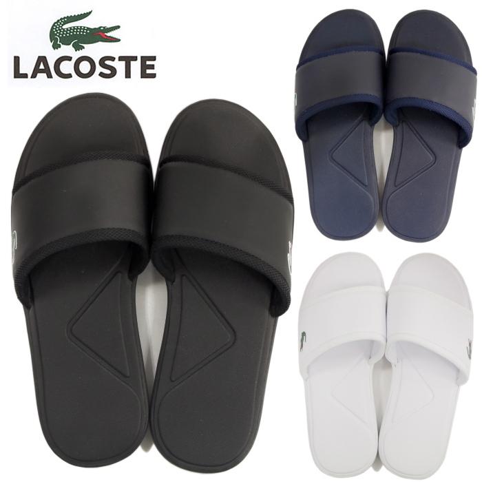 9949708699ee1 LACOSTE Lacoste L.30 SLIDE SPORT SPM2169 sandals SANDAL men shower sandals  2017 new work in the spring and summer