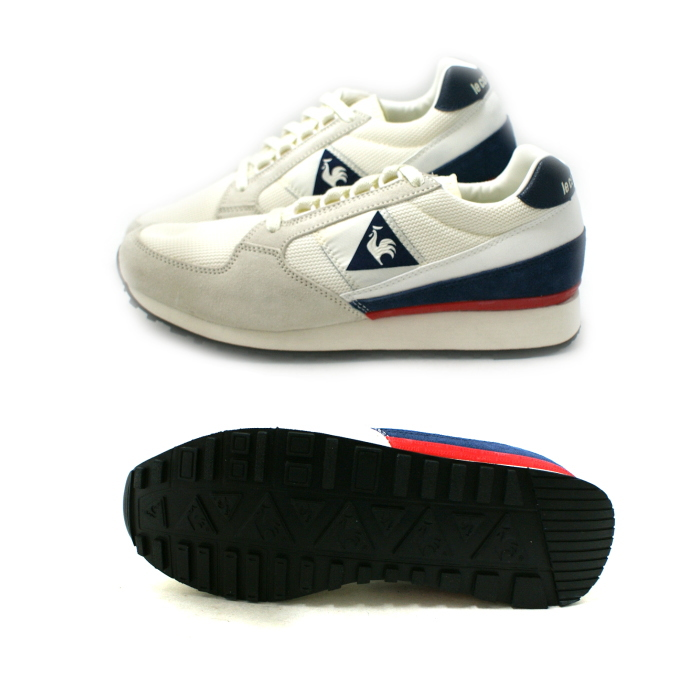 the latest 661cb 7e1b7 ... Lecoq sneakers le coq sportif ECLAT 89 1511100  Marshmallow  ECLAT mens  running shoes reprint ...