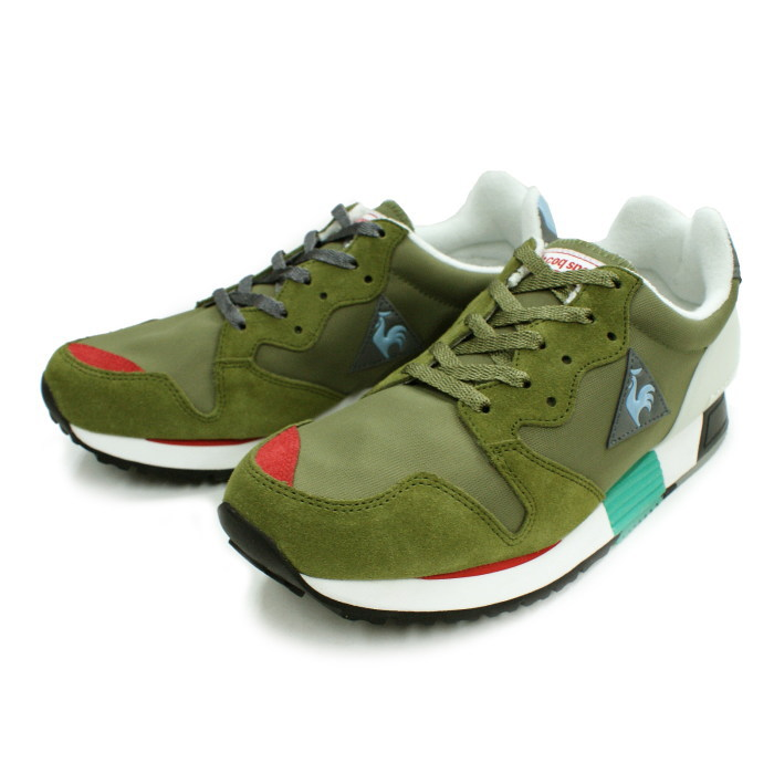 218e4bb00236 Lecoq sneakers le coq sportif EUREKA Eureka QMT-6100KH KHK  Khaki  men s  running shoes reprint shoes men s running shoes sneaker
