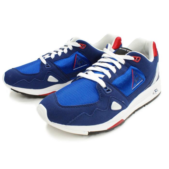 1c751ccec63d Lecoq sneakers le coq sportif LCS R 1000 QMT-6102NB NBR  Navy red white  men s running shoes reprint shoes men s running shoes sneaker