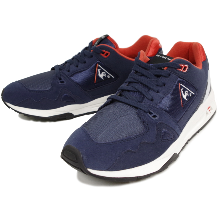 41d8f46dd549 Lecoq sneakers le coq sportif LCS R 1000 QMT-6304NW NWR  Navy white red  mens running shoes 2016 winter new