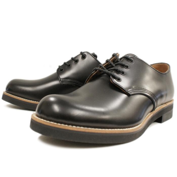 Locking Shoes ロッキングシューズ by FootMonkey フットモンキー PLAIN TOE OXFORD 1030 ブラック プレーントゥシューズ オックスフォード ローカット メンズ 短靴 日本製 MADE IN JAPAN 送料無料 【コンビニ受取対応】
