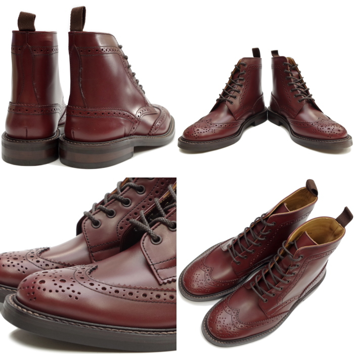 Locking Shoes Footmonkey Original Brand Wingtip Shoes Wingtip Boots Item No. 916 Colour: Burgundy Genuine Leather Leather Business Shoes Made in Japan Original Male Men's Casual Lace-up Shoes Business Japan WINGTIP Country Boots Mail-Order