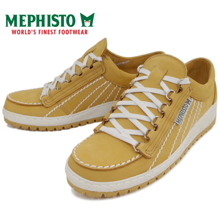 56ac170d535 Product made in メフィスト MEPHISTO RAINBOW 842 rainbow low-frequency cut  sneakers men [DESERT ...