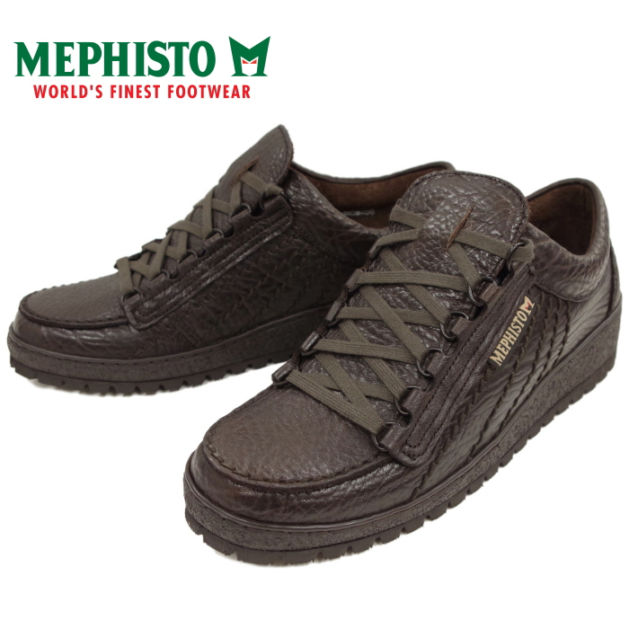 3474d1d081a967 Product made in メフィスト MEPHISTO RAINBOW 751 rainbow low-frequency cut  sneakers men  MAMOUTH DARK BROWN  walking shoes suede Portugal