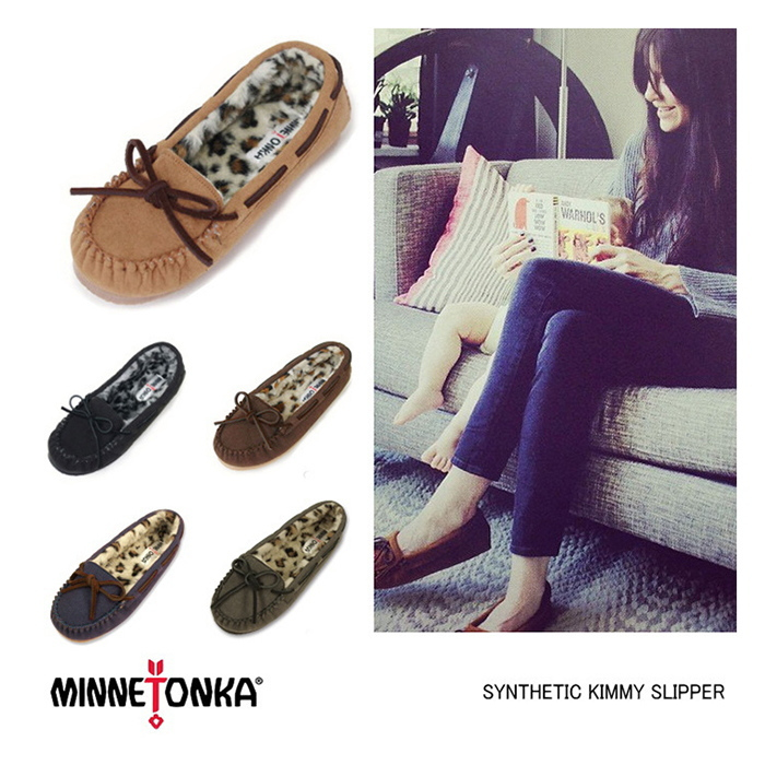 3ad69d4507f Minnetonka moccasins genuine another note MINNETONKA SYNTHETIC KIMMY  SLIPPER Womens slippers room shoes Leopard print