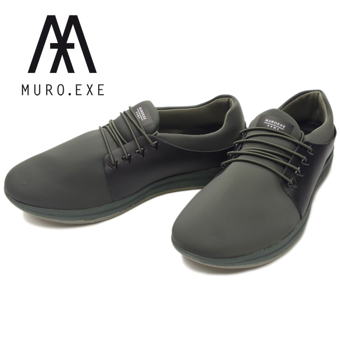 e409f010b2e1ee 2018 spring and summer new work made in MURO.EXE アーミームロエグゼ ARMY  waterproofing men sneakers low-frequency cut nostalgic rubber waterproof  Spain