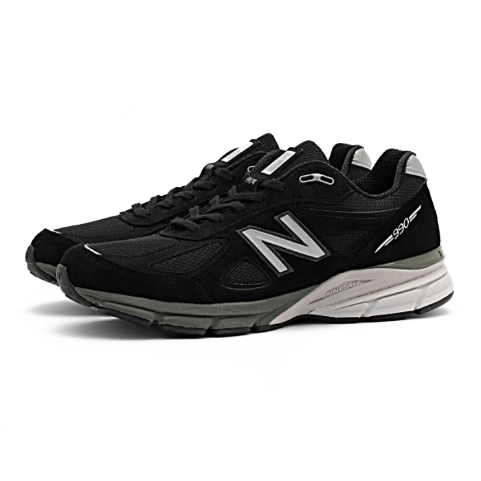 newest 62e07 df98a New Balance sneakers regular article new balance M990 BK4 [black] D Wise  Made in U.S.A men