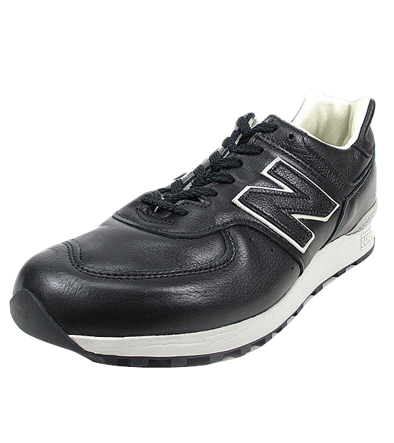 brand new 07c15 9d9c5 ●● New Balance 576 sneakers NEW BALANCE LM576UK BKU black / tongue Width::  Running shoes _ Made in ENGLAND _ leather mousse leather すにーかー shoes ...