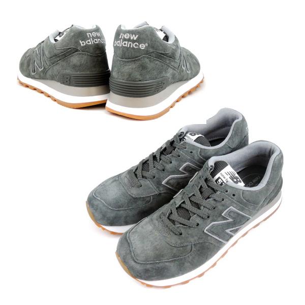 新平衡574反毛皮革运动鞋new balance NEW BALANCE ML574 FSC(木炭)新平衡人运动鞋men's sneaker newbalance ★★