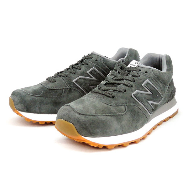 check out 91e28 f5bc2 ●● New Balance 574 suede sneakers new balance NEW BALANCE ML574 FSC  (charcoal) New Balance men sneakers men's sneaker newbalance ★★