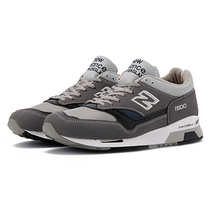competitive price 1c46f 3b741 ●● Running shoes M1500UK G gray Wise made in NEW BALANCE [New Balance]  England: Leather mesh sneakers comfort walking shoes すにーかー gray for the D _  ...