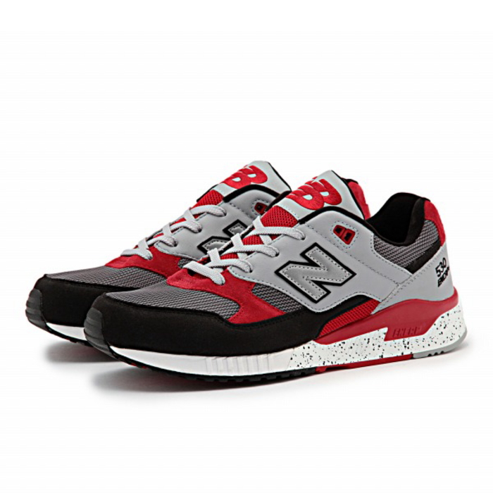 new concept 60684 109c2 ... red. ○○ New Balance sneakers 530 regular article new balance M530 PSB   gray   red ...
