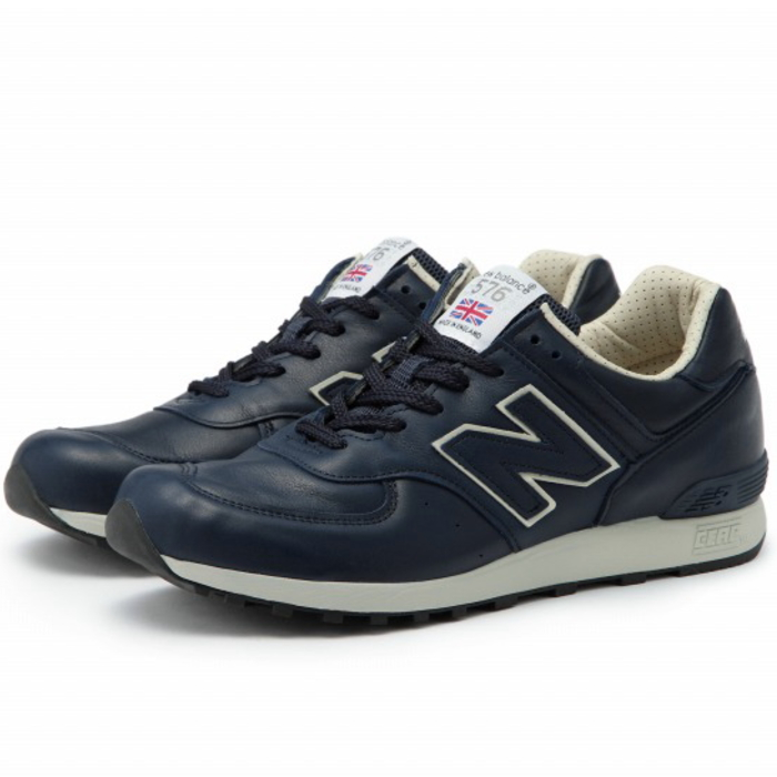 576 new balance sneakers NEW BALANCE M576 Navy / beige [CNN]-Made in  ENGLAND-new balance UK model men mens men's sneaker newbalance 2015  fall/winter ...