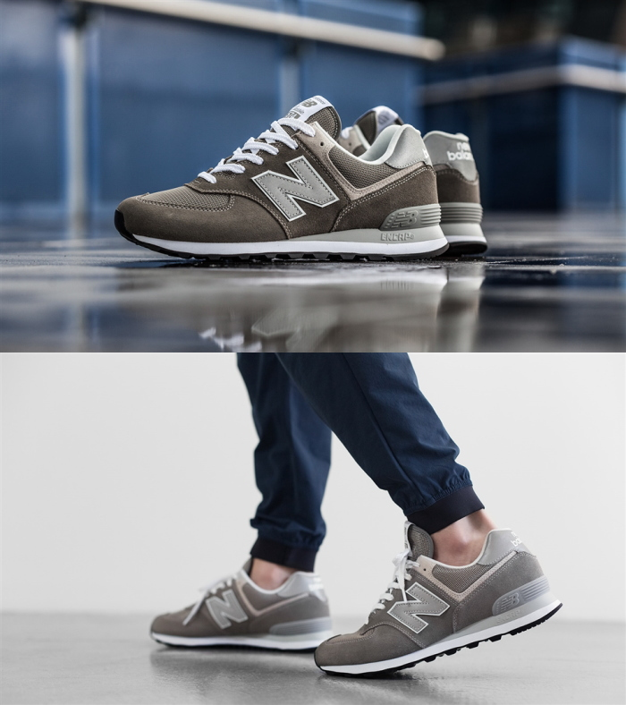 2729561dc2 new balance New Balance sneakers ML574 574 men's lady's running shoes  newbalance regular article 2018 fall and winter new work