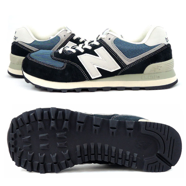 New balance sneakers 574 new balance ML574 DNA [Navy Blue] men\u0027s women\u0027s  shoes men\u0027s ladies sneaker newbalance shop 2014 Winter