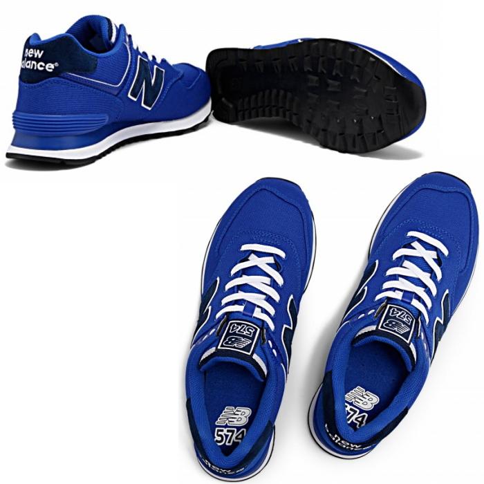 供供新平衡574 new balance ML574 POB[蓝色]运动鞋人分歧D男性使用的女性使用的men's leadis sneaker newbalance 2015SS